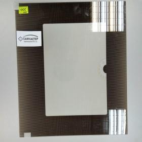Стекло духовки, наружное, коричневое, 497x408 мм, Gefest