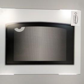 Стекло духовки наружное, белое, с термоуказателем, 497x396 мм, Gefest