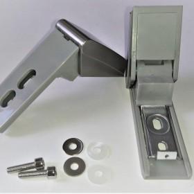 Ремкомплект для ручки двери холодильника Liebherr, цвет серый, код 959017800013