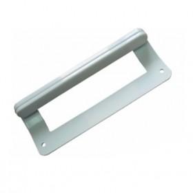 Ручка двери холодильника Ariston, Stinol, Indesit для морозильника, маталлическая, код 859996