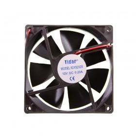 Вентилятор TIDAR 92 Х 92 Х 25 12V