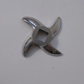 Нож для промышленной мясорубки Starfood, Enterprise, четырехгранник, отверстие 13,5 мм