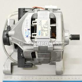 Двигатель стиральной машины Indesit (размер от края ножки до края вала 21,5 см) замена 275461, 11802