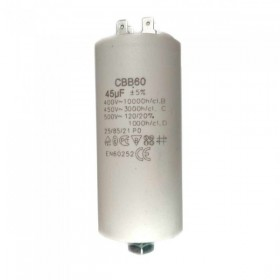 Конденсатор СВВ60 45 мф 450V пластик