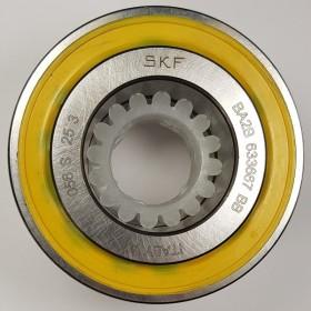 Подшипник двухрядный BA2B, 633667, 30х60х37, SKF, желтый пыльник