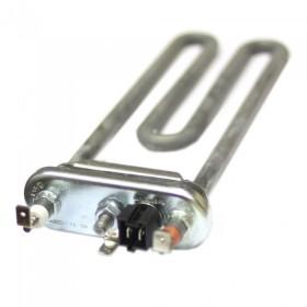 Тэн 1900W, прямой, с отверстием L=185 мм, ровная резинка 12 мм, Thermowatt, для Samsung