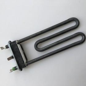 Тэн 1700W, прямой с отверстием под датчик, H=170 мм, резинка ровная h1=14 мм, для Indesit, Ariston,