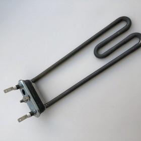 Тэн 1900W, гнутый, с отверстием под датчик, L=225 мм, резинка с юбкой (14 мм), для Bosch. код 264986
